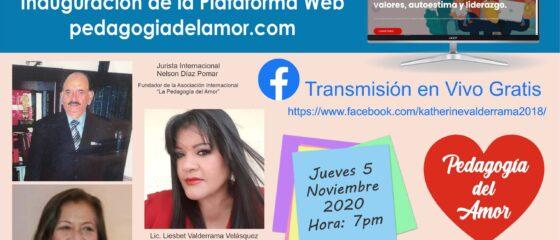 Inauguracion web pedagogia